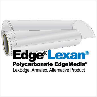 EdgeLexan® 45M Roll VELVET - Gloss PolyCarbonate Film